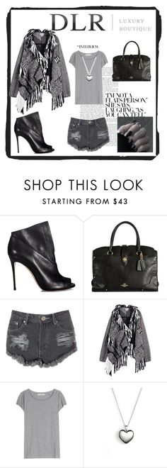 """""""Untitled #37"""" by meerryy ❤ liked on Polyvore featuring Casadei, Glamorous, Maiyet, Acne Studios, Pandora, women's clothing, women, female, woman and misses"""