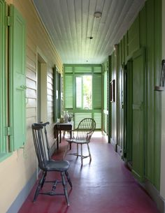 """Don Didier's home in New Orleans. Sept. """"The Magazine Antiques"""", 2011"""