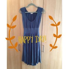 Casual blue long dress 💃👠 Very nice dress! It fits S/M falls beautifully!! No Trades, No PP! Dresses