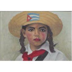 Cuban Art Cuba People, Cuba Art, Cuban Culture, Art Beat, Mexican Crafts, Caribbean Art, Types Of Art, Beautiful Islands, Woman Face