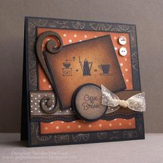 Coffee Break by B-gin-R - Cards and Paper Crafts at Splitcoaststampers