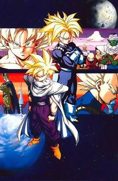 Dragonball Z-The Cell Saga. #QuotedBySonGokuKakarot
