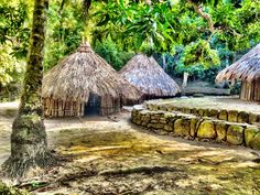 Pueblito in tayrona national park. #nature #Colombia