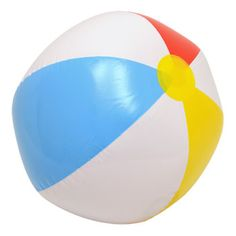 Add some extra fun to your next celebration with brightly colored beach balls! They are fun to volley around poolside, lakeside, or on the beach. They're also an exciting addition to sporting ev