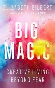 Eat Pray Love author Elizabeth Gilbert explores the nature of the creative life and the heart of inspiration in Big Magic: Creative Living Beyond Fear. Eat Pray Love, New Books, Good Books, Books To Read, Fall Books, Books 2016, Reading Lists, Book Lists, Happy Reading