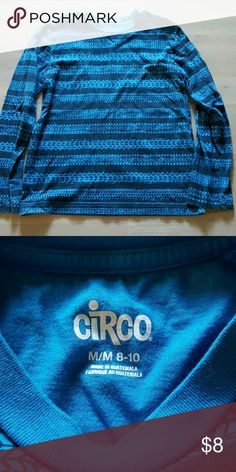 Boys Tire Tread Tee Blue long sleeve, excellent condition! Worn once! Circo Shirts & Tops Tees - Long Sleeve