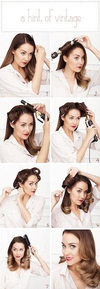 Lauren Conrad vintage glam