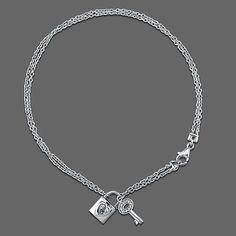 Sterling Silver Anklet Ankle Bracelet with Lock http://www.thesterlingsilver.com/product/adara-silver-pink-bead-and-pearl-dropper-bracelet-of-length-19cm/