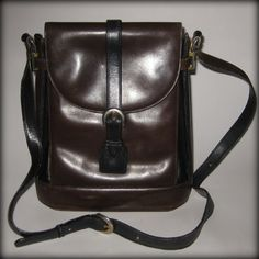Cole Haan Leather Handbag by VintageHaven on Etsy