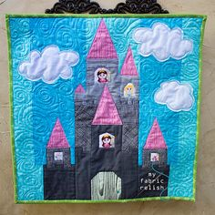 princess castle quilt pattern   taking a trip around the world...