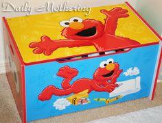 Sesame Street Toy Box