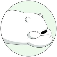 Ice Bear We Bare Bears, We Bear, Cartoon Network, Telegram Stickers, Cute Bears, Cartoon Wallpaper, Polar Bear, Cartoon Characters, Chibi