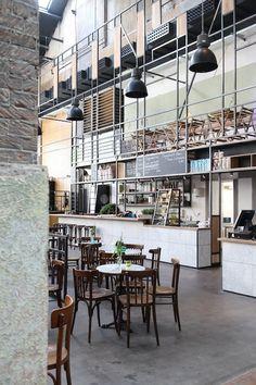 Market Hall Interior Design | Restaurante Khotinksy | Holanda | Inspiration | Pinterest