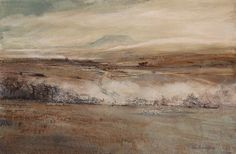 Landscape Paintings and photographs : North Yorkshire Open Studios  Artist: Susan Calverley Parker.