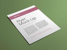 Flyer / Poster Mock-Up | Mockup Cloud