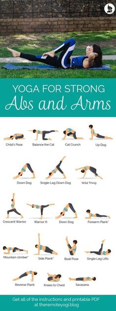 Yoga for Strong Abs & Arms - Free Printable PDF Check more at yoga. Informations About Yoga for Strong Abs & Arms - Free Printable PDF Yoga Fitness, Shape Fitness, Health Fitness, Fitness Style, Bras Forts, Yoga Beginners, Beginner Yoga, Yoga For Beginners Flexibility, Yoga Sequence For Beginners
