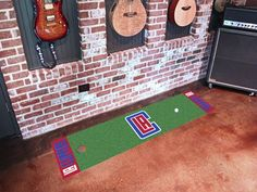 Los Angeles Clippers Putting Green Runner