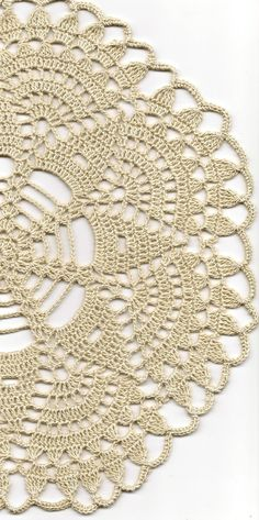 Christmas gift, Crochet doily, lace doilies, table decoration, crocheted doilie, center piece, hand made, table runner, napkin, ecru via Etsy