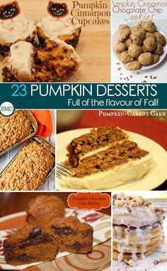 23 Pumpkin Dessert R