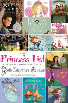 Princess Picture Book List.  We have about half of these...great list!