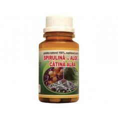 Hypericum Plant Spirulina cu aloe si catina alba - 60 comprimate (Suplimente nutritive) - Preturi Spirulina, Aloe Vera, Nutella, Desserts, Food, Meal, Deserts, Essen, Hoods