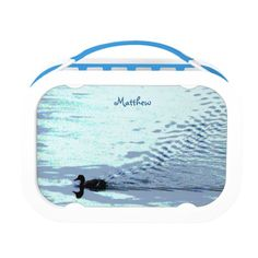 Duck and Water Ripples Lunch Boxes