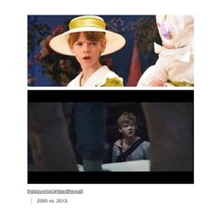 Thomas Brodie-Sangster - As Simon in Nanny McPhee and Newt in The Maze Runner