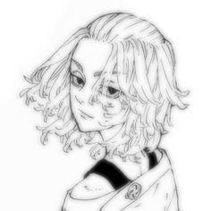 Mikey, Cartoon Profile Pictures, Dark Anime, Cute Icons, Manga, Anime Chibi, Aesthetic Anime, Tokyo, Kawaii