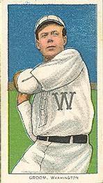 1909-11 The American Tobacco Company T206 White Border #198 Bob Groom Front