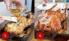 Pomalu pečená kachna | Apetitonline.cz Pork, Food And Drink, Turkey, Meat, Chicken, Cooking, Recipes, Kale Stir Fry, Kitchen