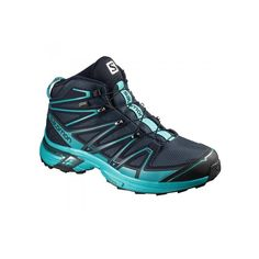 Salomon Women's X-Chase Mid GTX Hiking Boots | Boots | Torpedo7 NZ Hiking Shoes, Running Shoes, Snow Gear, Tyres Recycle, Boot Shop, Boots Online, Gore Tex, Waterproof Boots, Snug