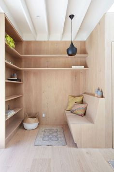 Clifford Studio Interior Built-In by Bach Architecture, Photo by Mariko Reed