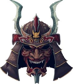 Resultado de imagen para samurai mask