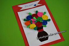 dzień babci i dziadka, laurka, kids craft / http://www.kreatywniewdomu.pl/2018/01/laurki-dla-babci-i-dziadka.html
