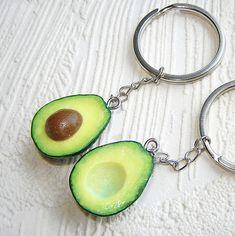 Best Friend Gift Keychain BFF Key Chain Set of 2 di agatsjewelry