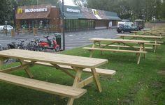 picknicktafels mc donalds van MRwoodproducts