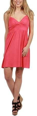 0756dcfe700 24 7 Comfort Apparel 24Seven Comfort Apparel Skylar Spaghetti Strap Short  Summer Dress. (Shopstyle Affiliate)
