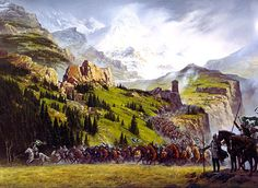 The Riders of Rohan by Ted Nasmith