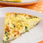 Awesome Cheesy Egg Casserole....I think this would be great with chopped bell peppers, onions and mushrooms too.