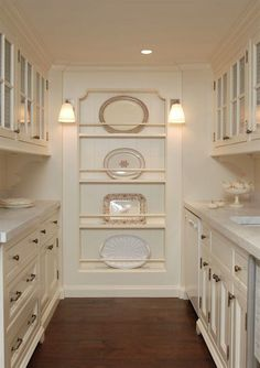 Pantry design - Clever kitchen storage - Butler pantry - New homes - Un. House, Kitchen Cabinet Doors, Kitchen Cabinet Door Styles, Home, Clever Kitchen Storage, New Homes, Butler Pantry, Home Kitchens, Pantry Design