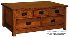 Nobility Petite Mule Chest Coffee Table