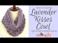 Lavender Kisses Cowl Tutorial - moogly