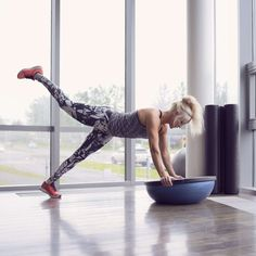 The Most Underrated Workout Equipment in the Gym, According to a Personal Trainer — POPSUGAR – Famous Last Words Bosu Workout, Workout Days, Plank Workout, Fun Workouts, Bike Workouts, Swimming Workouts, Swimming Tips, Cycling Workout, Strength Training For Beginners
