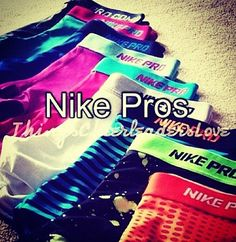 own all the nike pro spandex....once I can actually look good and wear them!