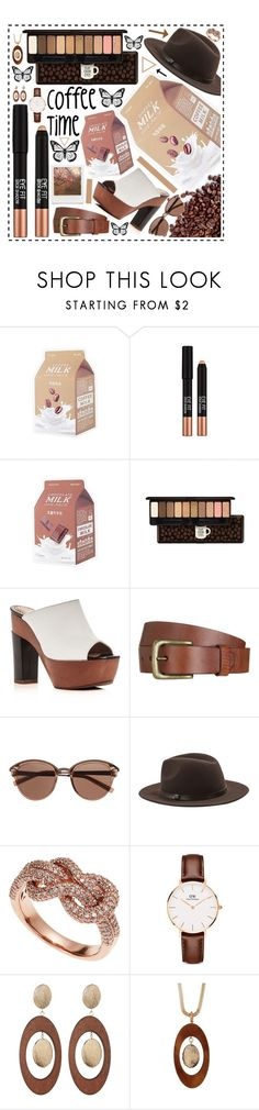 """""""Coffee time!"""" by beanpod ❤ liked on Polyvore featuring Missha, Etude House, ALEXA WAGNER, Will Leather Goods, Witchery, MANGO, Impossible Project, Effy Jewelry, Daniel Wellington and Spring Street"""