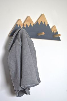 Hey, I found this really awesome Etsy listing at https://www.etsy.com/listing/267851208/mountain-peak-wall-hooks-mountain-peak