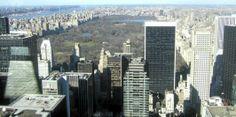 UTSIKT: Fra toppen av Rockefeller Center.