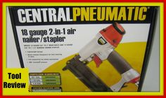 Tool Review For Harbor Freight Pneumatic Nail Gun