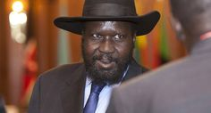 """South Sudan's president Salva Kiir In 2011, HILLARY CLINTON  said she wanted, """"the opportunity to make it possible for [South Sudan's] children to envision a different future"""" by abolishing child soldiers in the newly-formed country. At the time, she was helping to facilitate the deaths of children for the sake of oil extraction.  Read more: http://sputniknews.com/world/20160610/1041102180/clinton-aided-child-soldier-training.html#ixzz4BP55AYZw"""