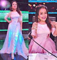 Latest photos of Neha Kakkar Pakistani Dresses, Indian Dresses, Indian Outfits, Stylish Dresses, Nice Dresses, Fashion Dresses, Indian Attire, Indian Wear, Neha Kakkar Dresses